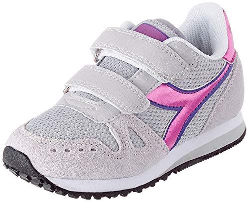 Diadora Simple Run PS Girl, Scarpe da Bambini, Blu 65010, 29 EU