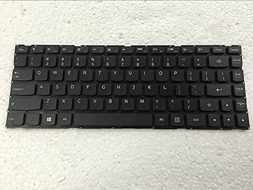 TSZPY NUEVO teclado del ordenador portátil para Lenovo YOGA 500-14IBD 500-14IHW no retroiluminado marco negro