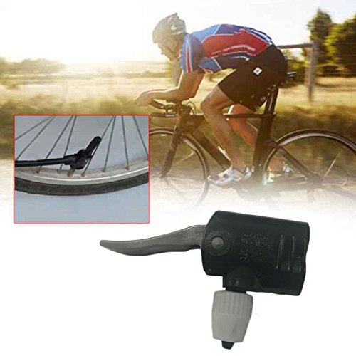 Bolange Fahrradaufblasdüse Multifunktional Fahrradpumpendüse with Einheitsgröße Inflator
