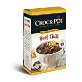 Crock-Pot Delicious Dinners, All Natural Beef Chili, Pack of 3