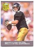 Brett Favre 1991 Fleer Ultra Rookie Football Card...