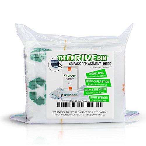 Drive Auto Products Sac à ordures étanche pour Voiture