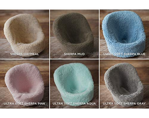 POSING POD COVER ONLY - ULTRA SOFT SHERPA - DIFFERENT COLORS - NEWBORN PHOTOGRAPHY PROP