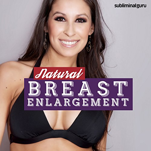 Natural Breast Enlargement audiobook cover art