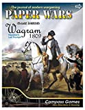 """Magazine With Game Reviews, And Including A Board Game In Each Issue Napoleon's Battle Of Wagram 1809 34""""x22"""" Map 228 Counters Play Time About 3 Hours"""