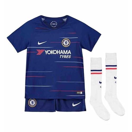 f018484f43 Nike 2018-2019 Chelsea Home Little Boys Mini Kit