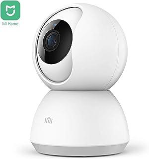 Xiaomi IMI Mi Home 1080P HD Cámara IP Inalámbrica Inteligente Vigilancia Interior Cámara de Seguridad WiFi Pan/Tilt Audio Bidireccional Visión Nocturna Detección de Movimiento Monitor Remoto (Blanco)