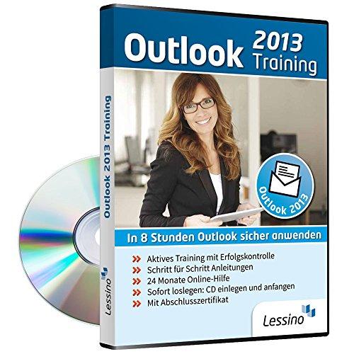 Outlook 2013 Training - In 8 Stunden Outlook sicher anwenden | Einsteiger und Auffrischer lernen mit diesem Kurs Schritt für Schritt die sichere Anwendung von Outlook [1 Nutzer-Lizenz]