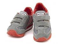 [パトリック] Patrick 女の子 男の子 キッズ 子供靴 スニーカー ベルクロ マラソンベルクロ MARATHON-V GRY EN7524 グレー 15.0cm