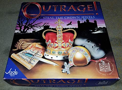 Outrage! Steal The Crown Jewels,Board Game,Treason in the Tower by Imperial Games