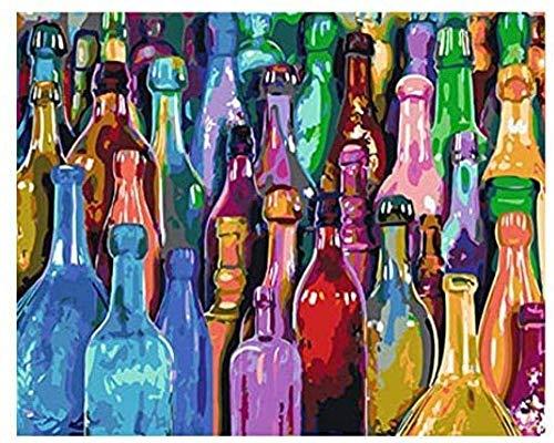 Wijn Voor Volwassenen En Kinderen Diy Klassiek Schilderij Modern Interieur Festival Gift Intellectueel Spel Muurkunst Legpuzzel-1000 Stukjes