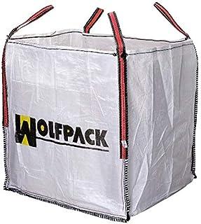 WOLFPACK LINEA PROFESIONAL 2240600 Saco Obra Big Bag 90x90x90cm. Carga máxima seg. 1.000Kg