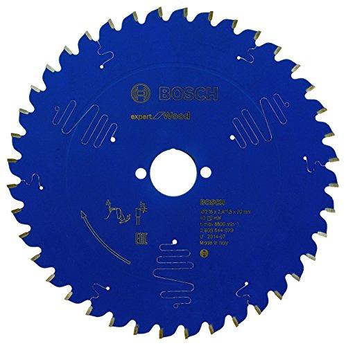 Bosch Professional Kreissägeblatt Expert für Wood (Holz, 216 x 30 x 2,4 mm, 40 Zähne, Zubehör Kreissäge)