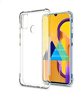 Protective Transparent Clear Case Shockproof Back cover For Samsung Galaxy M30S
