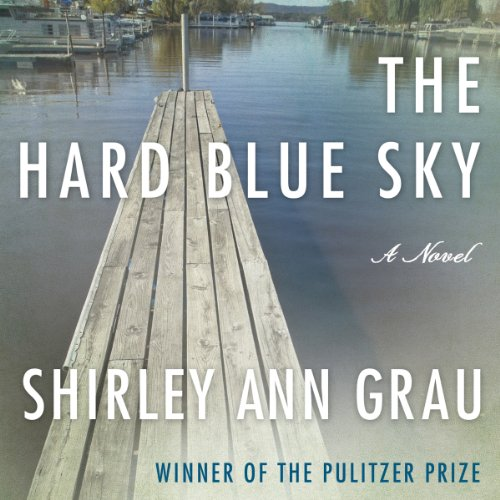 The Hard Blue Sky audiobook cover art