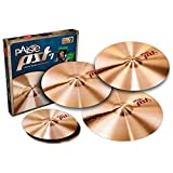 Paiste PST 7 Universal Cymbal Set - FREE 16 Inches Crash