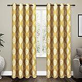 Exclusive Home Curtains - Cortinas Opacas con Ojales en la Parte Superior (2...