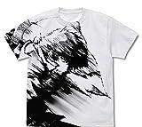 カウボーイビバップ スパイク・スピーゲル オールプリントTシャツ/WHITE-L