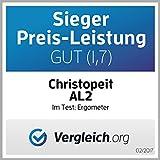Christopeit Ergometer AL 2, silber/schwarz, 96x59x134 cm - 17