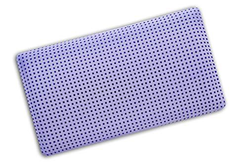 V.I.P. Very Important Pillow V.I.P. Almohada de Espuma viscoelástica con Tratamiento de Lavanda, 42 x 72 x 11, Fabricada en Italia