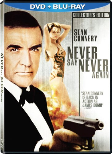 Never Say Never Again (Two-Disc Blu-ray/DVD Combo in DVD Packaging)