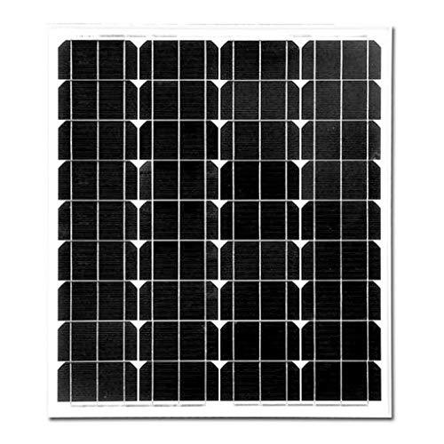 YILANJUN 70 Watt Monocrystalline Solar Panel, Used To Charge 12v Battery, High Efficiency Module Power, 12V Photovoltaic Panel Outdoor Lighting Household Power Generation