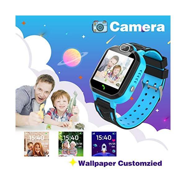Reloj Inteligente para niños Kids Smartwatch para niños Niñas Juego de teléfono Smart Watch para niños Niños Reproductor… 7