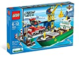 Harbour 4645 and LEGO City container ship (parallel import goods) (japan import)