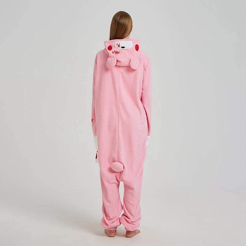 negro griffe drag/ón Koala amarillo mono rojo unisex oso marr/ón rosa sin zapatillas conejo Black Sugar Mono Kigurimi Pijama Pijama con oso panda de perro