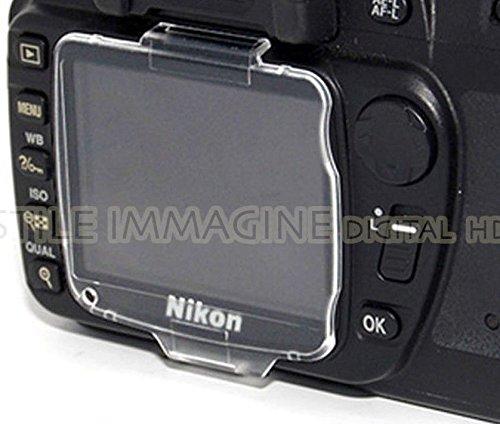 DIGITAL HD COPRI DISPLAY COMPATIBILE per NIKON D80 BM 7 cover PROTEZIONE RIGIDA BM-7 Hard Crystal LCD