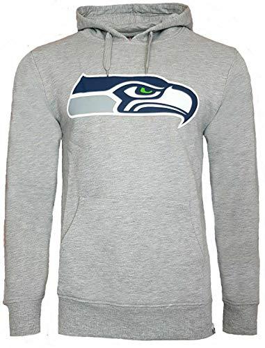 NFL Seattle Seahawks Prism Sudadera con capucha, Hombre, gris, medium