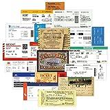 YMSD 55 unids aerolínea embarque Pass Ticket Box Etiqueta Maleta Equipaje Retro Marea Marca Monopatín Pvc Adhesivo Decorativo