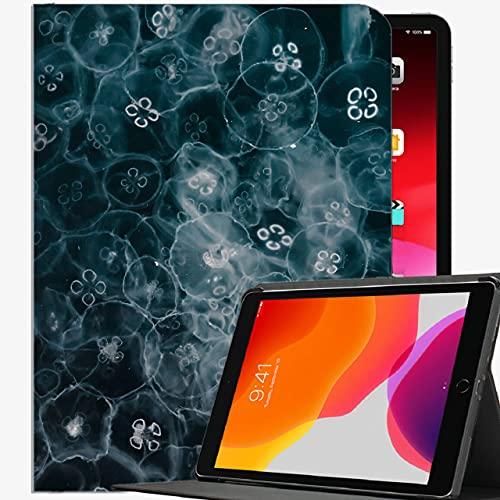 Caso Ajuste Nuevo iPad 8th Generation 10.2 '2020 / iPad 7th Gen 2019, Jellyfish Glow Funda de la Concha Delgada de la Caja del Mundo submarina para iPad iPad 10.2 Pulgadas