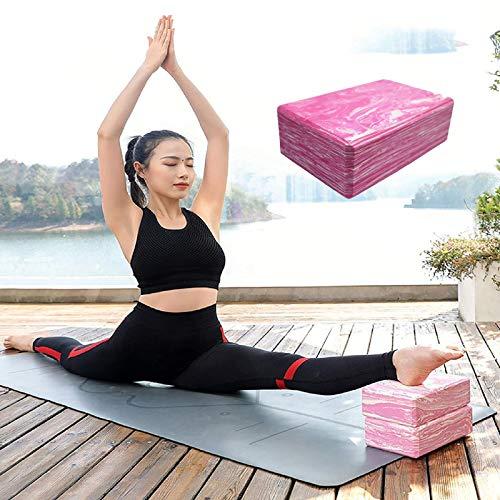 Lumanby Bloque de yoga de ladrillo de yoga de alta densidad bloque de yoga ligero versátil ladrillo de yoga 9.1 x 5.9 x 3.9 pulgadas