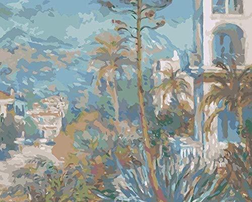 Digitaal schilderij voor het zelf maken van digitaal schilderwerk, voor het knutselen van olieverfschilderijen, 40 x 50 cm (zonder lijst)