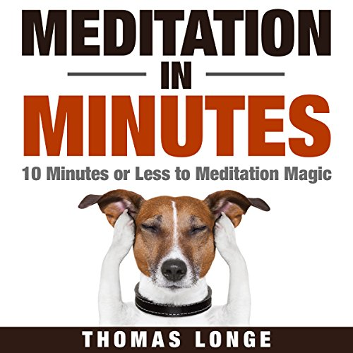 Meditation in Minutes audiobook cover art