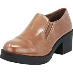 556fba17cdb7a Chunky heel platform loafers - Casual Women's Shoes