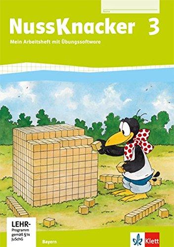 Nussknacker 3. Ausgabe Bayern: Arbeitsheft mit CD-ROM Klasse 3 (Nussknacker. Ausgabe für Bayern ab 2014)