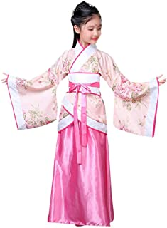 Girls' Ancient Chinese Traditional Hanfu Dress Fancy Dress Christmas Party Dress