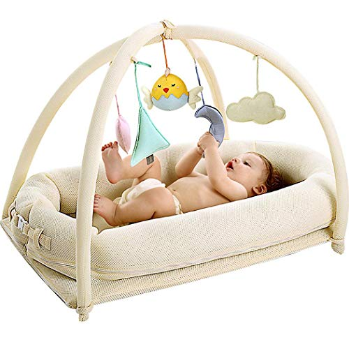 Why Should You Buy Crib Bed Newborn Crib Portable Anti-Pressure BB Bed Multi-Function Baby Bionic Be...