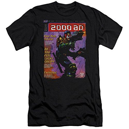 Judge Dredd 1067 Adult T-Shirt Black MD
