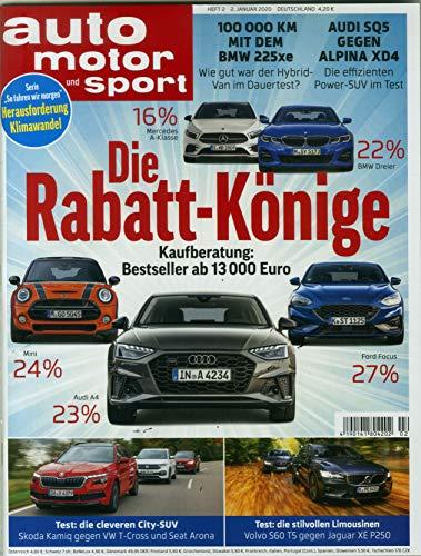 "Auto Moto Sport 2/2020 \""Die Rabatt-Könige\"""