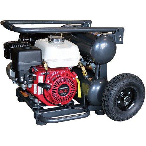 和コーポレーション KAZ 配達条件有りA 代引き不可 エンジン式コンプレッサー GM-16ES 16L