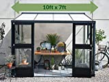 Juliana Veranda Lean-to Greenhouse