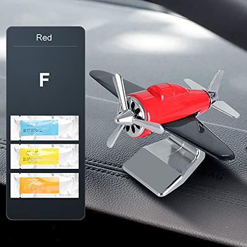 Baishi Perfume de coche coche aviones decoración mini coche perfume ambientador fragancia coche avión ornamento