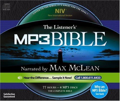 The Listener's NIV MP3 Audio Bible