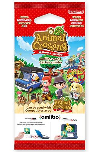 "Amiibo-Karten zu ""Animal Crossing: New Leaf"" (3 Stück)"
