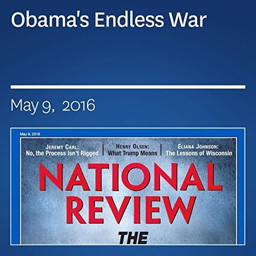 Obama's Endless War audiobook cover art