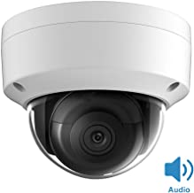 Hikvision 8MP IP PoE Dome Camera with Audio DS-2CD2185FWD-IS Network ONVIF Outdoor H.265+ IP67 Waterproof Security Camera Support Upgrade Face Detection 2.8MM Lens