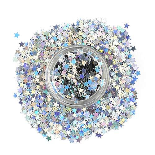 Paillettes cosmétiques en forme d'étoiles,...